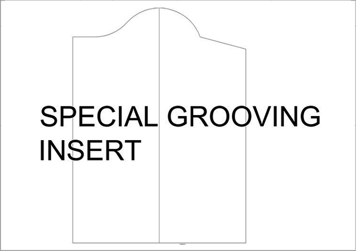 Special Grooving Inserts